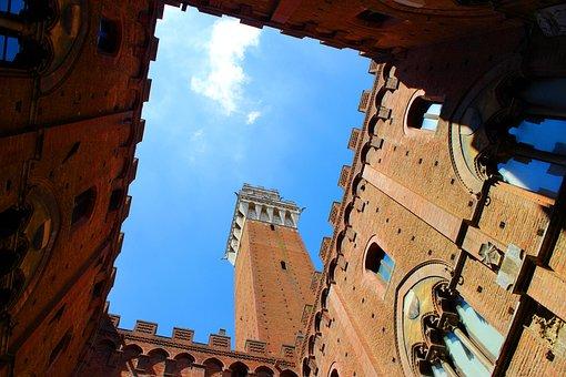 Siena, Tuscany, Italy, Architecture