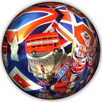 Ball, Round, British, United Kingdom, English