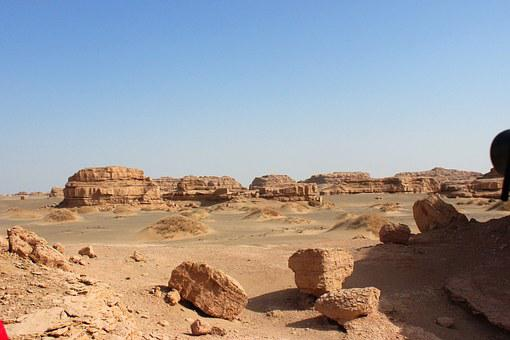 Dunhuang, The Scenery, Northwest, Ghost City