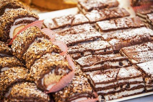 Pastries, Italy, Sicily, Sweet, Dessert, Italian