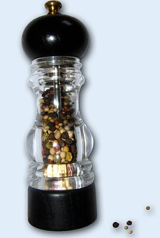 Pepper Mill, Pepper, Spice, Sharp, Spices