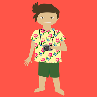 Vacations, Tourism, Photo Tourists, Photograph, Camera