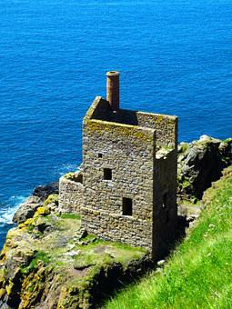 St Just, Ruin, Mine, Decay, Old, Botallack Mine