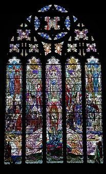 Stained Glass Window, Cathedral Window, Stained Glass