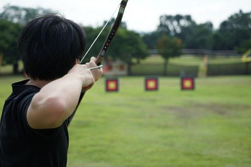 Target, Leisure, Palace Sa, Bow, Arrow, Summer