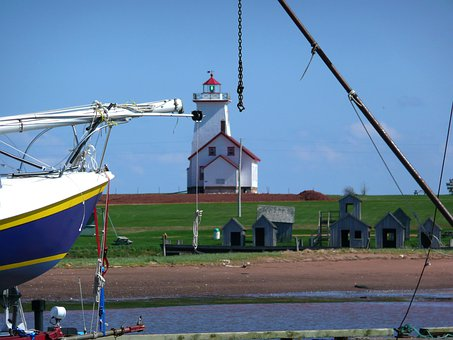 Lighthouse, Light, Beacon, Flashing, Navigation, Aid