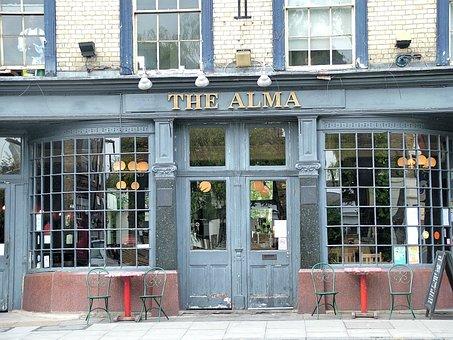 London, Alma, Pub