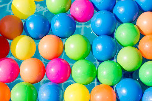Many, Round, Balloon, Easter, Bright, Food