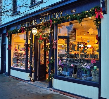 Christmas Store, Building, Architecture, Gallery