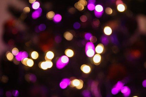 Bokeh, Christmas, Christmas Tree, Ornaments, Holiday