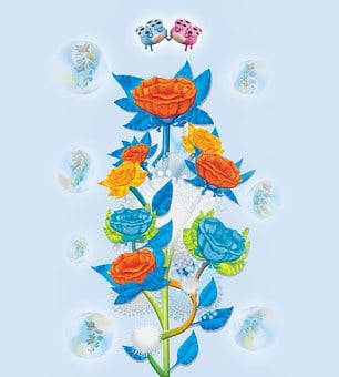 Flower, Colors, Dark, Clear, Soul, Souls, Tree, Flowers