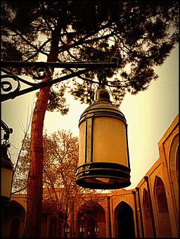 Street Lamp, Old, Culture, Qazvin