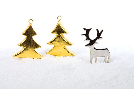 Metal, Tree, Trees, Celebration, Christmas, Decoration