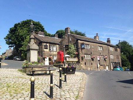 Pub, Yorkshire, Dobcross, English Pub, Saddleworth