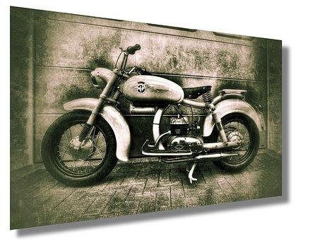 Mv Augusta Old, Motorcycle, Oldtimer