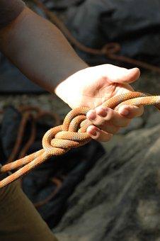 Climb, Knot, Hand, Partner Check, Eighth Node