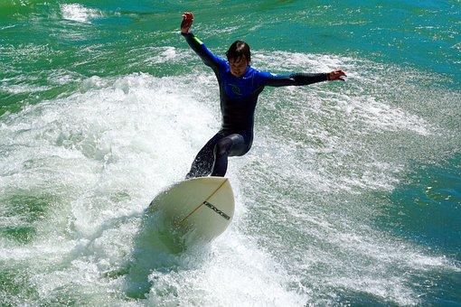 Water Sports, Waves Surfing, Surfing, Surf