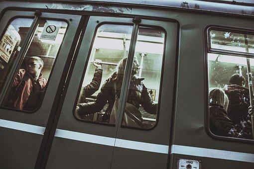 Bus, Waiting, Vehicle, Train, Transportation