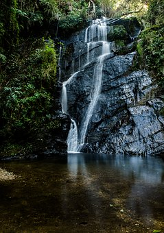 Waterfall, Travel, Quality Of Life, Life, Landscape, At
