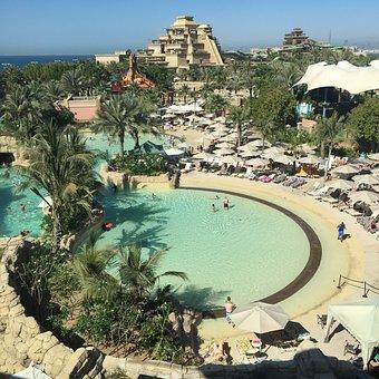 Aquaventure, Dubai, Atlantis, Palm, Jumeira, Jumeirah