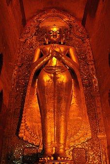 Myanmar, Buddha, Buddhism, Burma, Ar, Culture, Asia