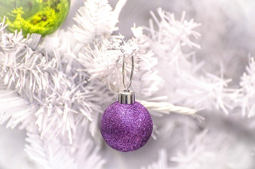 Decoration, Silver, Christmas Time, Christmas Bauble