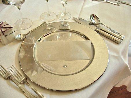 Christmas Dinner, Festival, Table Decorations