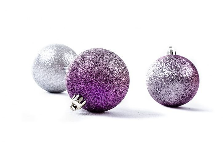 Decoration, Silver, Christmas Time, Christmas Baubel