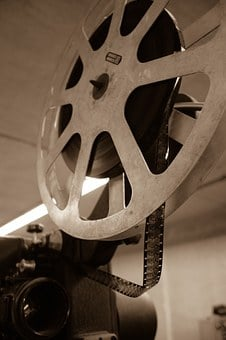 Projector, Film, Exhibition, Show, Showing, Strip, Old