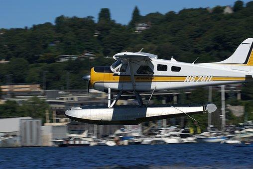 Float Plane, Lake Union, Seattle Wa