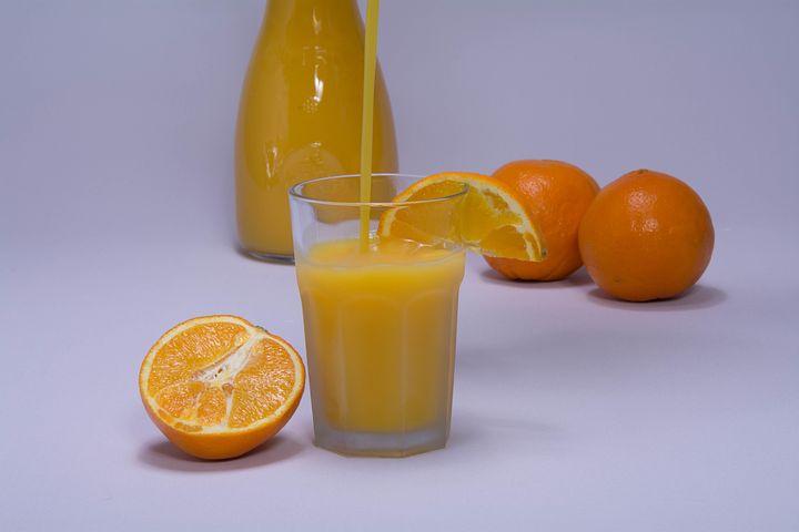 Orange, Orange Juice, Frisch, Pressed, Healthy, Glass
