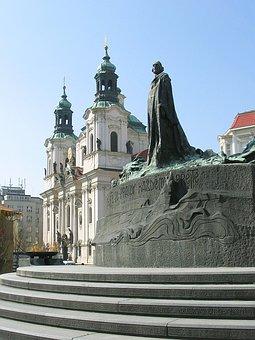 Prague, Hus Monument, Jan Hus, Tourism, Capital