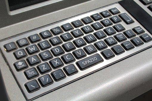 Atm Keypad, Numeric Keypad, Keyboard, Numbers, Letters
