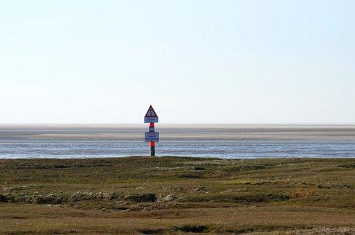 North Sea, Wadden Sea, Nordfriesland, Watts