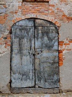 Door, Ancient, Old Port, Wood, Entry, Wood Door