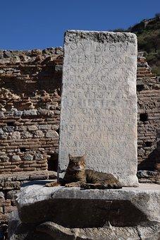 Ephesus, Protection, Code, Secret, Archaeology, Pillar