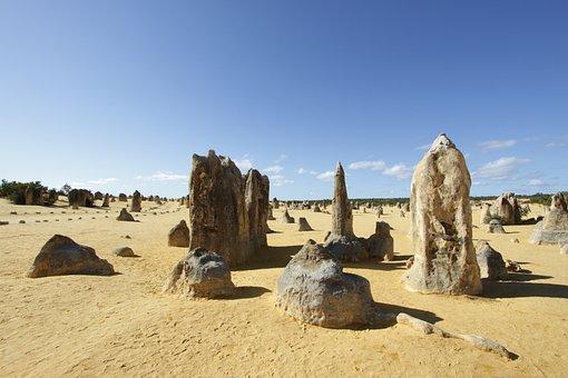 Namburg, Desert, Pinnacles, Wa, Australia, Formation