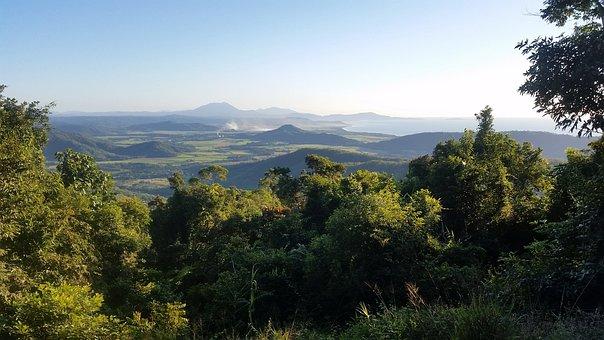 Port Douglas, Australia, Queensland, Mountains, Trees