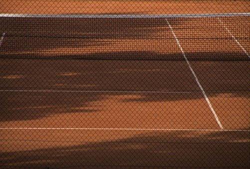 Tennis Court, Sport, Tennis, Clay Court, Red