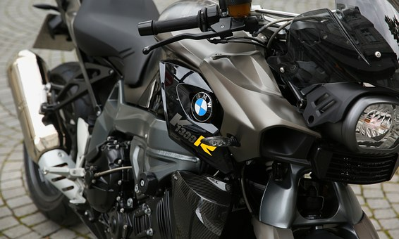 Motorcycle, Bmw, Motor, Cylinder, Shiny, Reflection
