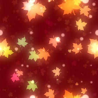 Leaf, Leaves, Bokeh, Background, Scrapbook, Page, Paper