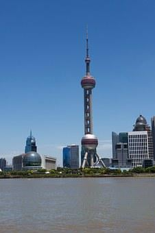 Shanghai Band, Shanghai East Pear Tower, Cityscape