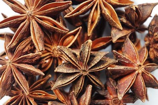 Star Anise, Pepper, Fragrant, Christmas, Anise, Baking
