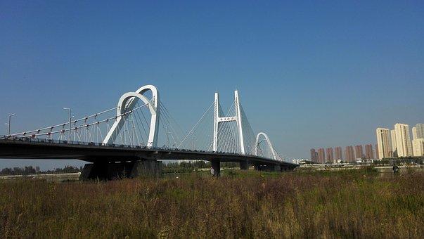 Longgang Bridge, Hanjiang, Autumn, The Outskirts