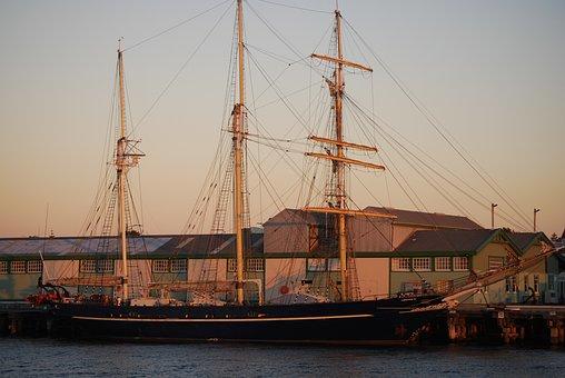 Harbour, Boat, Harbor, Port, Ship, Transport, Dock