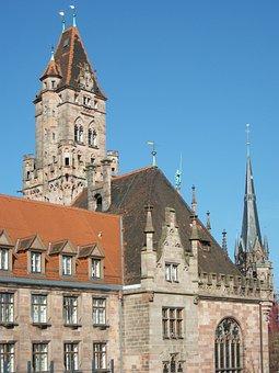 Saarbruecken, City Hall, Town Hall, Architecture, Big