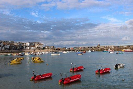 Boats, Bay, Sea, Water, Travel, Vacation, Summer, Ocean