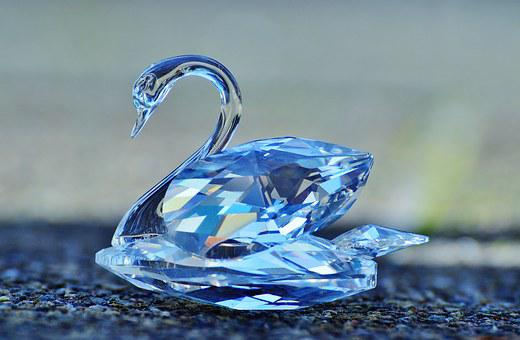 Swarovski, Swan, Crystal, Noble, Beautiful, Shine