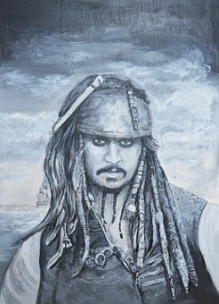 Jack Sparrow, Pirates Of The Caribbean, Black Pearl