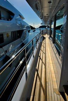 Yacht Deck, Boats, Motor Yachts, Megayachts, Superyacht